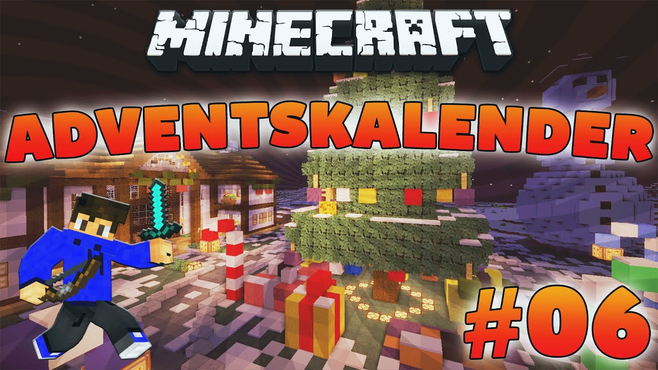 Weihnachtskalender Minecraft.Ein Dorf Minecraft Adventskalender 06 Let S Play Minecraft Hardcore