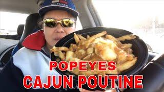 POPEYES Cajun Poutine | Review