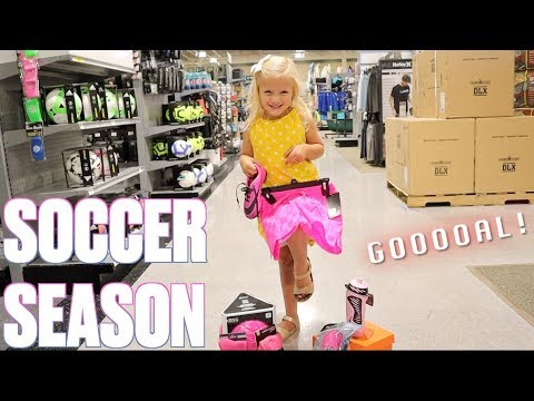 FIRST YEAR OF SOCCER   EVERYTHING YOU NEED FOR SOCCER   KIDS SOCCER GEAR