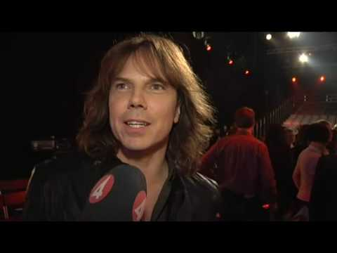 Joey Tempest interview on Idol 2009 TV4