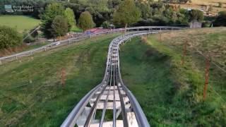 Mitfahrt auf der Sommerrodelbahn in Wippra [60 fps]