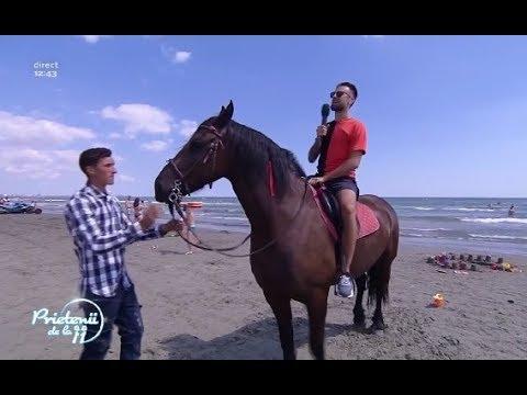 Florin Ristei s-a urcat prima dată pe un cal!