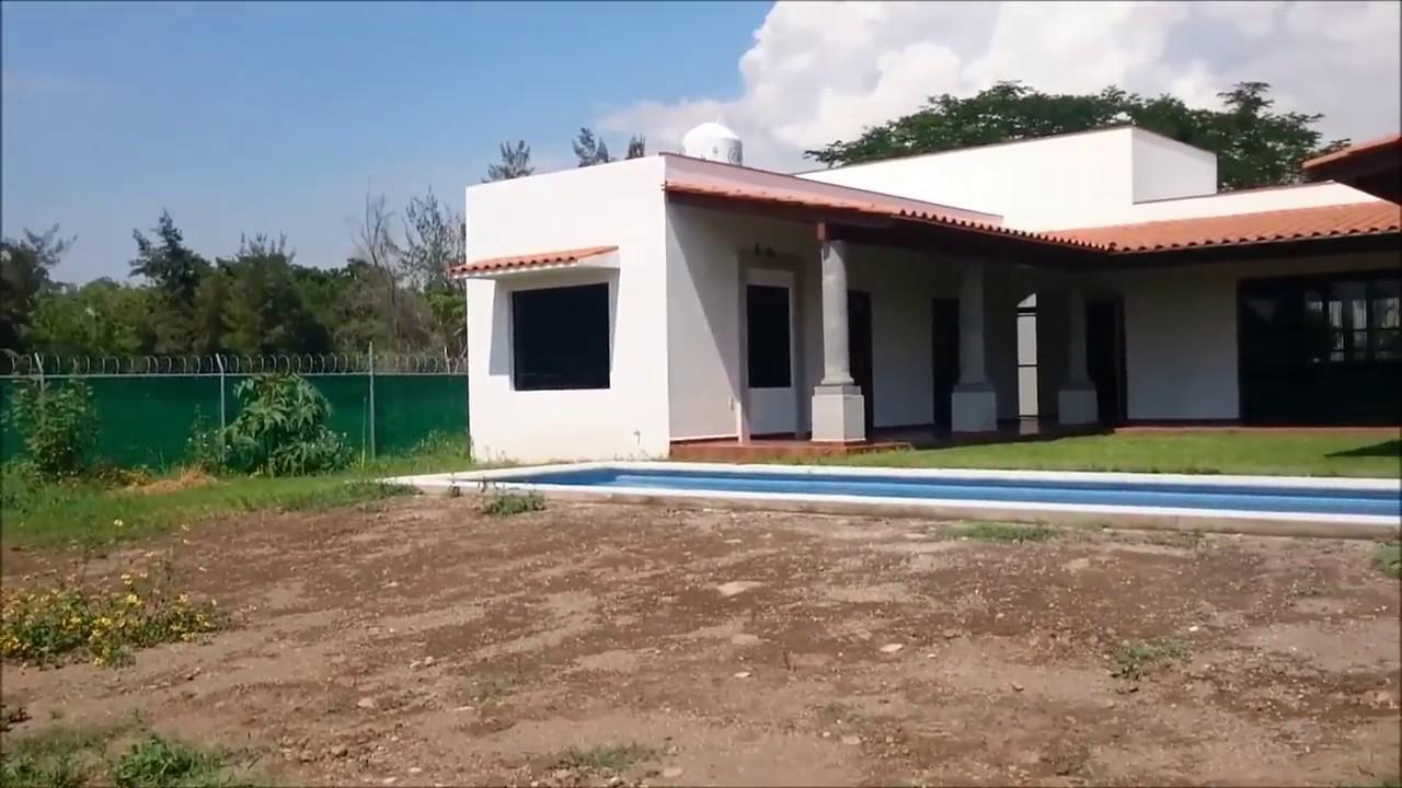 Casa de campo con alberca en venta en colima youtube for Casas de campo pequenas con alberca