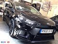 BRAND NEW BLACK FOCUS RS COVERED IN DEFECTS MAJOR GLOSS OFFSET DETAILING ESSEX