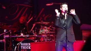 Robin Thicke - Teach u a lesson - Bell Center - Montreal - February 28h 2010
