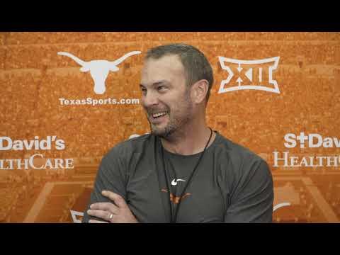 The Bottom Line - Tom Herman Talks Texas vs. Kansas