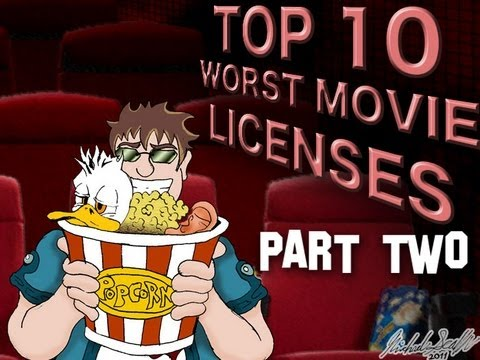 Top 10 Worst Movie Licenses - Wez and Larry&39;s Top Tens Part Two