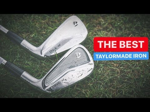 THE BEST TAYLORMADE IRON P770 OR P7MC