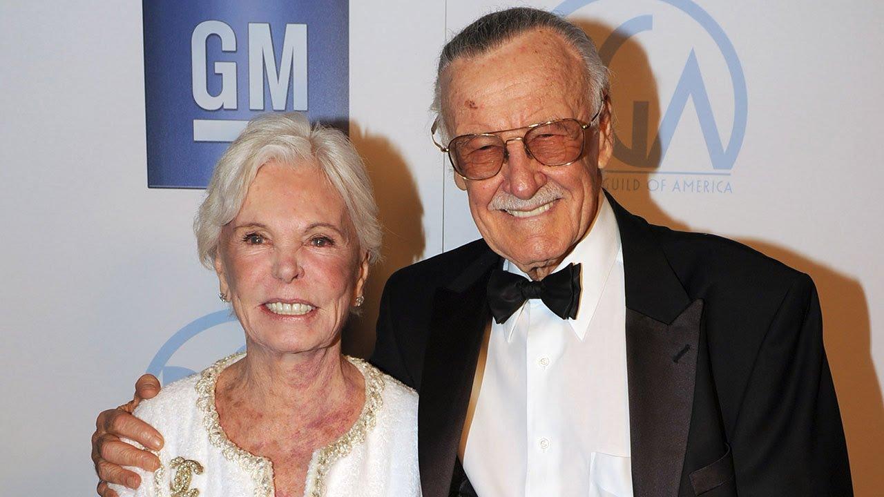 Joan Lee, wife of Stan Lee, dies at 95