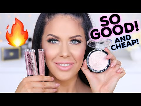 5 NEW DRUGSTORE MAKEUP PRODUCTS YOU NEED TO TRY!!! (THESE ARE SO GOOD!!)