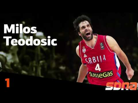Milos Teodosic Top 3 Assist (Olympic game - USA vs Serbia)