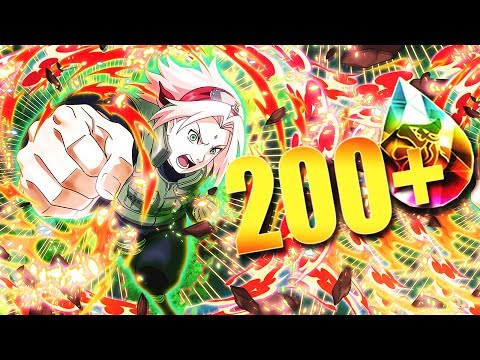 **4th WAR SAKURA STEP UP BANNER** | ** Naruto Shippuden Ultimate Ninja Blazing *
