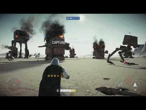 Captain Phasma 22 killstreak on Crait Star Wars Battlefront: 2 (DICE pls buff)
