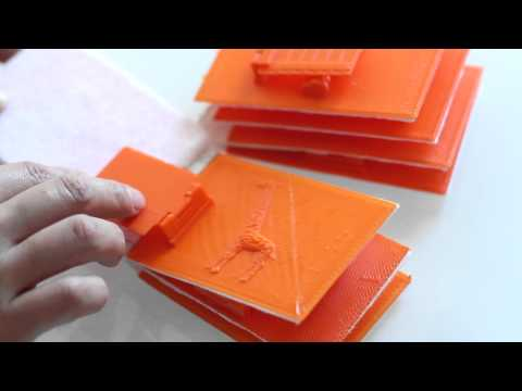 3D Printed Tactile Children's Books