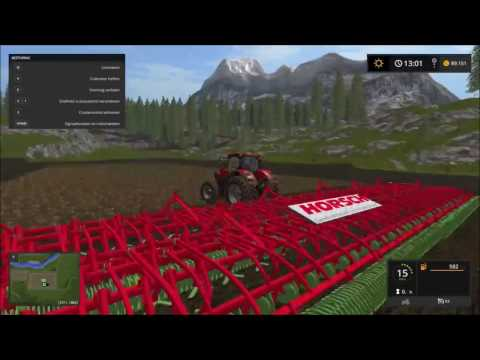 fs 17 carreer time lapse # 9 planting wheat & corn for silage