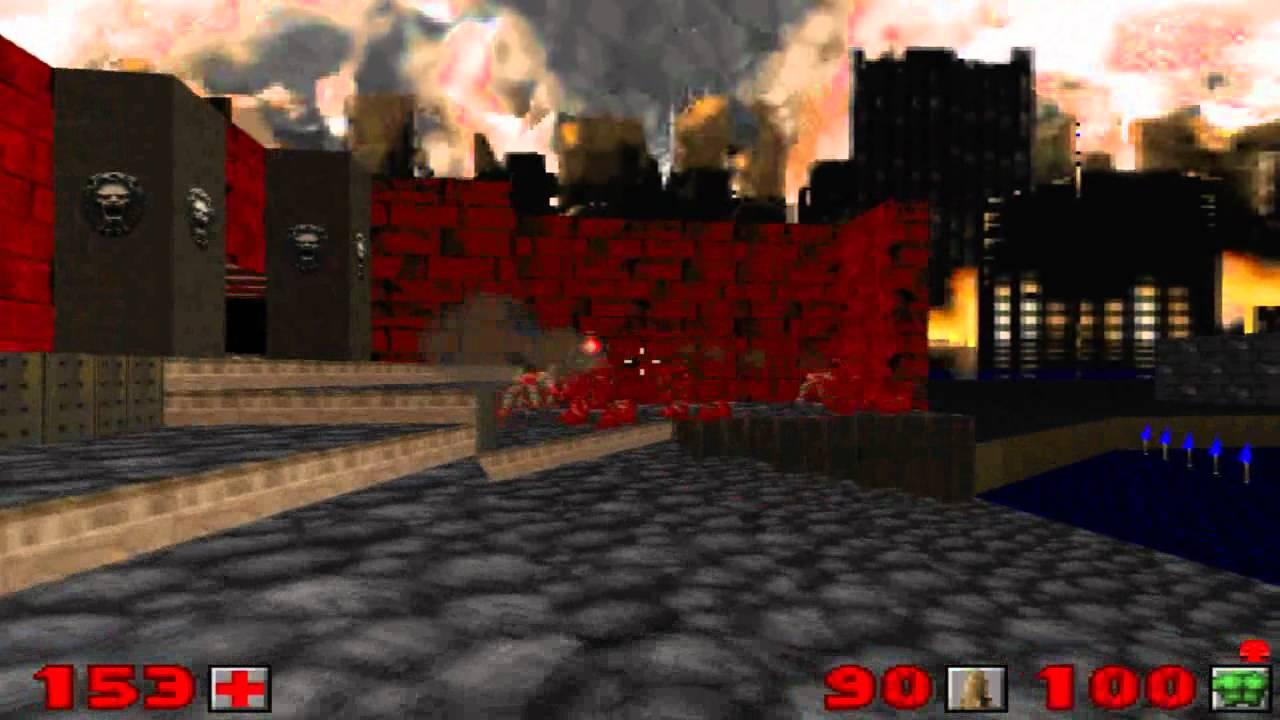 Doom 2 - Level 19 ( All Secrets )