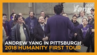 Andrew Yang in Pittsburgh | 2018 Humanity First Tour