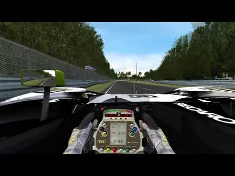 Dewgre Racing Audi r15 TDI Le Mans Hot Lap