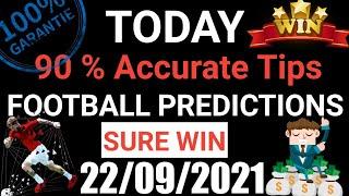 Football Predictions Today 22/09/2021 | Soccer Prediction |Betting Strategy #freepicks #bettingtips screenshot 3