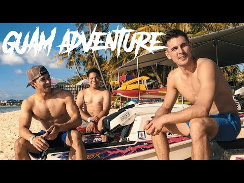EPIC WATERSPORTS ADVENTURE!! (VLOGSQUAD GUAM TRIP)