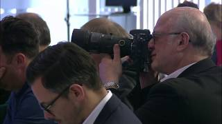 Press conference for the financial year 2017 - Dirk Wössner thumbnail