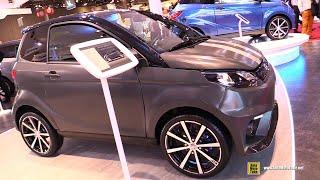 2019 Aixam City GTO - Exterior and Interior Walkaround - 2018 Paris Motor Show