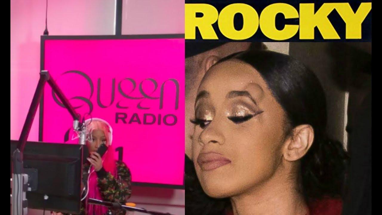 Cardi B Loyalty Over Royalty Bicep Tattoo: Cardi B CLAPSBACK At Nicki Minaj Over Queen Radio COMMENTS