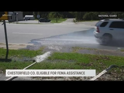 Chesterfield County Eligible For FEMA Assistance
