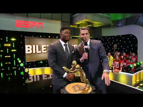 Corey Coleman on winning Biletnikoff Award