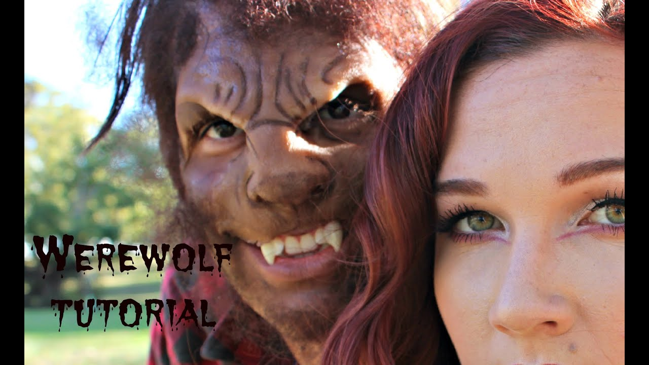 part 2 couples halloween costume the big bad wolf prosthetics makeup youtube
