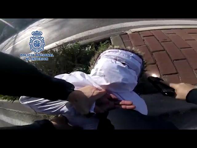 Detienen a un varón que robó una furgoneta de reparto tras 45 minutos de persecución por Madrid