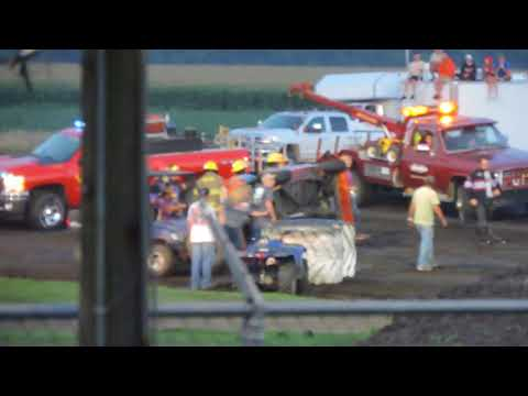 July 22, 2018 IMCA Hobby Stock Feature at Benton County Speedway