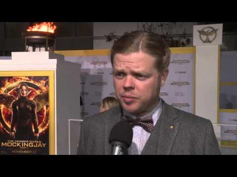 Elden Henson at the 'Mockingjay: Part 1' LA Premiere