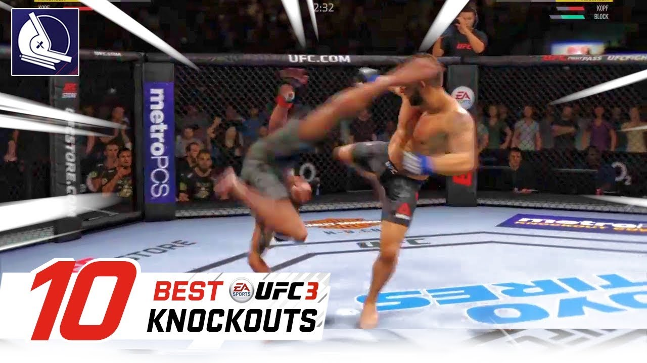 Ea Sports Ufc 3 Top 30 Best Knockouts 2 Youtube