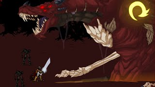 Dragonfable: Baron Dante vs. Are you crazy?! Merged Akriloth