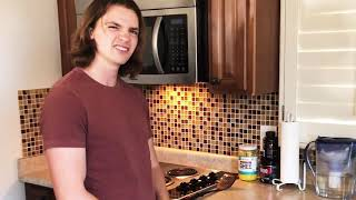 2021 The Kissing Booth&#39s Joel Courtney Shows Us His Home Kitchen With His Fiancé Mia Scholink