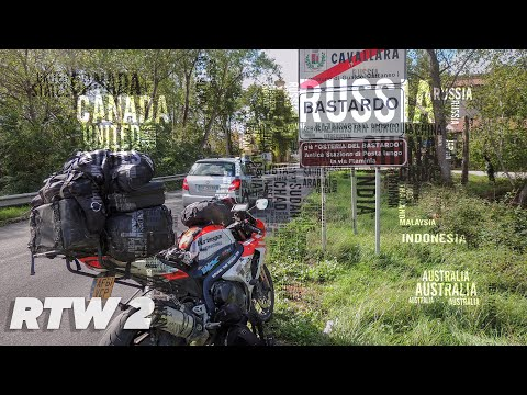 TeapotOne Motorcycle Around The World - Episode 2 Europe Stage 1