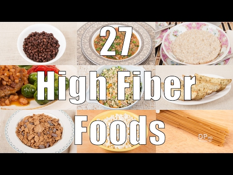 27 High Fiber Foods (700 Calorie Meals) DiTuro Productions