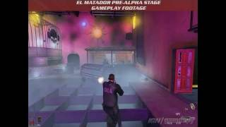 El Matador PC Games Gameplay - GC Footage