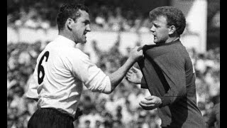 Dave Mackay vs Leicester FA Cup Final 1961 (All Touches & Actions)