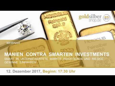 Manien contra smarten Investments - Webinar mit M. Blaschzok (12.12.2017)