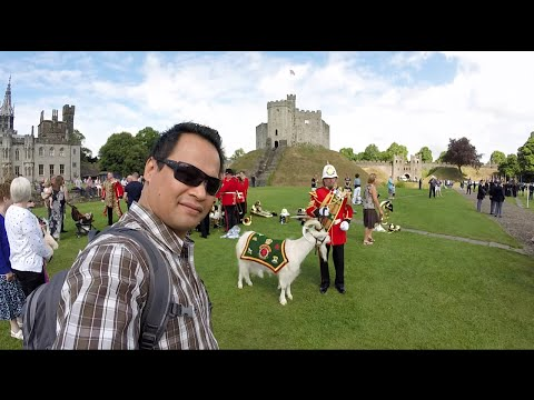 A Bruneian Martial Artist's Journey - Cardiff Castle, Wales, UK (27th June 2015)