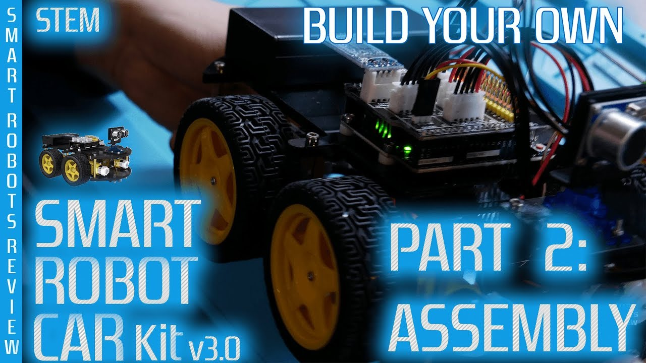 Smart Robot Car Build Your Own Part 2 Arduino Elegoo V3