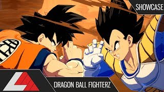 (2K) NEW SAIYAN SAGA GOKU AND VEGETA DLC! Dragon Ball FighterZ (Showcase)