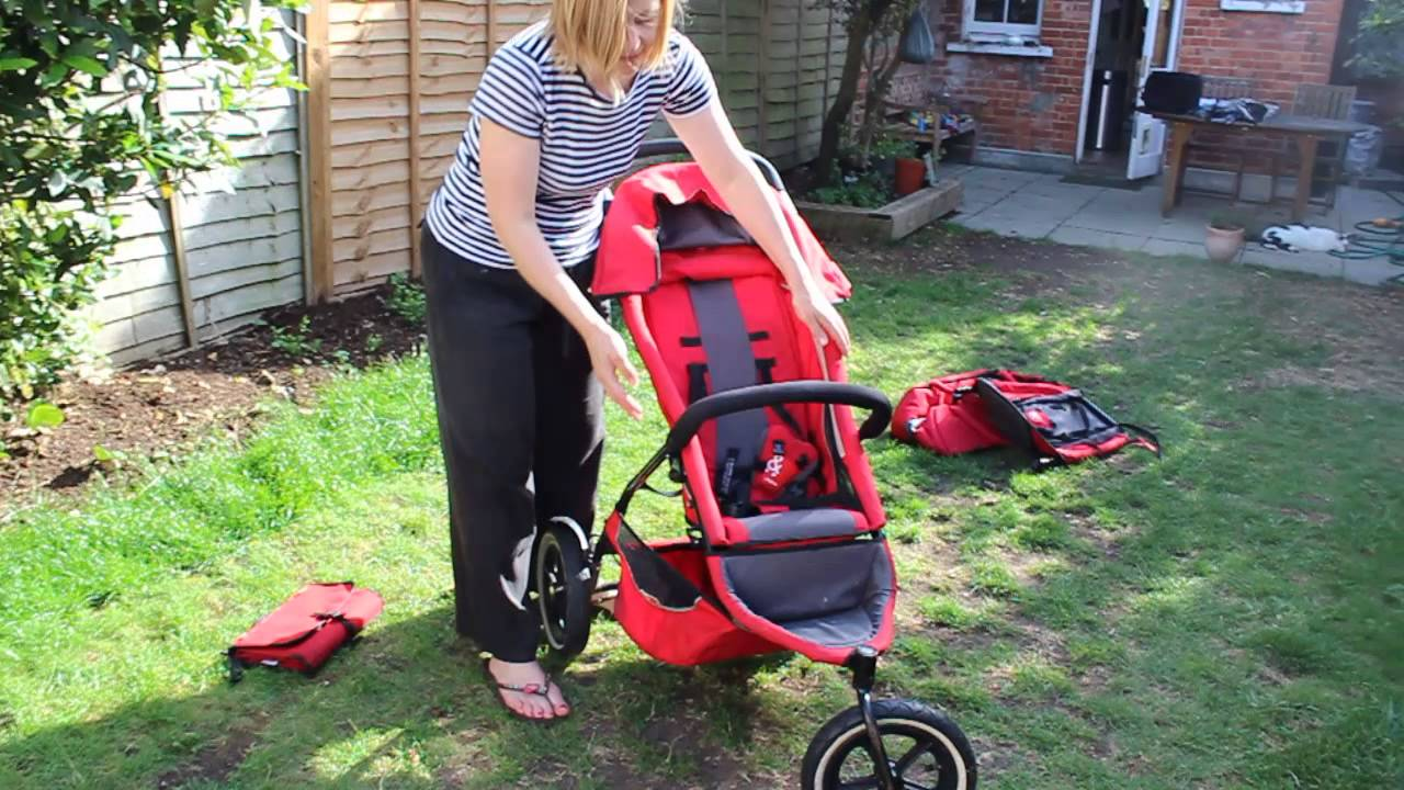 How To Unfold Phil Teds Sport Double Buggy