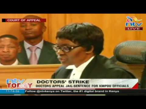 Jailed KMPDU officials released; Court of Appeal ruling -#HealthCrisis