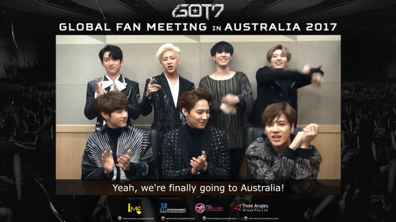 Greeting video for got7 global fan meeting in australia 2017 youtube greeting video for got7 global fan meeting in australia 2017 m4hsunfo