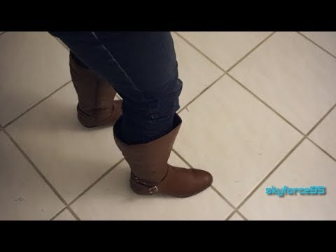 15041e8376b Style   Co Faee Wide Calf Mid Calf Boots Unboxing   Review