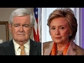 Gingrich: Hillary Clinton can't come to grips with reality