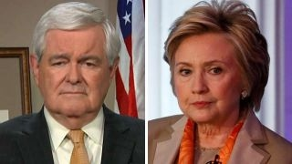 Gingrich: Hillary Clinton can